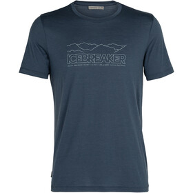 Icebreaker Tech Lite SS Crew Shirt Icebreaker Story Men, serene blue
